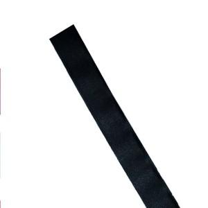 Nastro in Dacron h8 cm nero