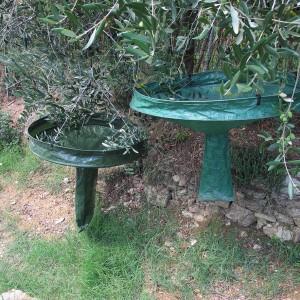 Cestello per la raccolta manuale delle olive disponibile in due misure, facile da usare