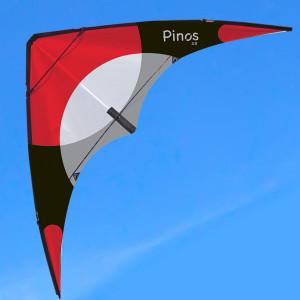 Aquilone acrobatico in fibra di vetro adatto a principianti e bambini