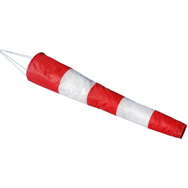 Manica a vento bianca rossa150