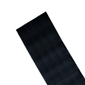 Dacron adesivo 20x20 cm nero
