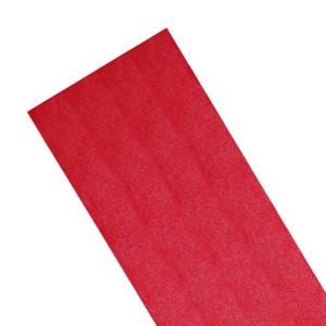 Dacron adesivo 20x20 cm rosso