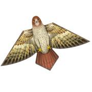 Aquilone in polietilene dalla forma a falco, volo con venti leggeri, facile da usare adatto anche per bambini